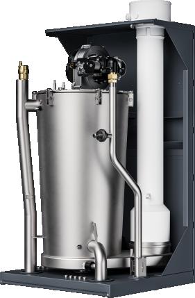 Wall-hung condensing boiler
